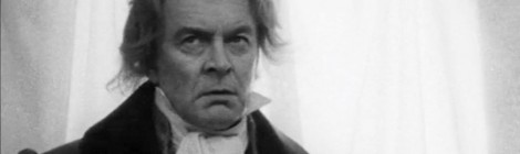 Tony Britton as Beethoven in 'Out of the Labyrinth' by Gordon Stainforth, 1975