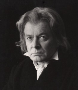 Tony Britton as Beethoven in 'Out of the Labyrinth'