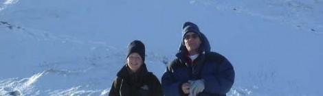 Fairbrook Naze in winter
